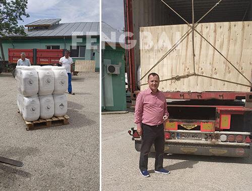 Fengbai SDIC Disinfectant to Romania