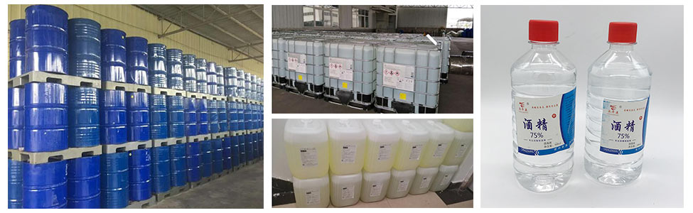 ethanol disinfectant package
