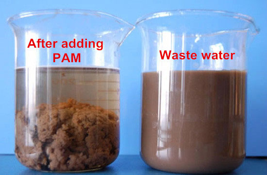 PAM for water treatment